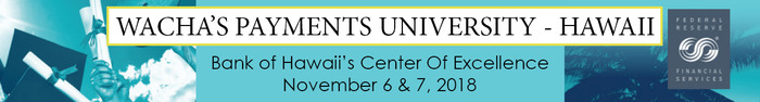 Hawaii Payments University banner
