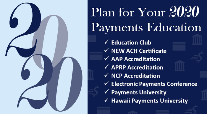 Budget for Your 2020 Payments Education